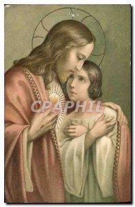 Old Postcard Christ
