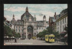 059436 Belgium Anvers gare centrale de l'avenue Old