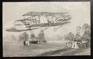 Mint France PPC Picture Postcard Early Aviation Airplane Bleriot
