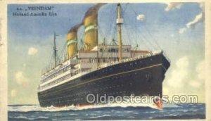 TSS Veendam Holland - America Line, Steamer, Steam Boat, Ship 1948 postal use...