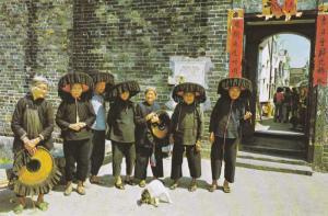 Hong Kong - Village Women of Kathing Walled City