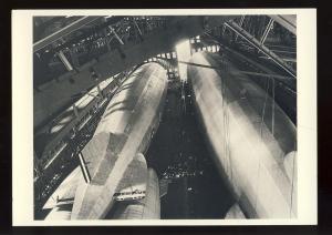Lakehurst, New Jersey/NJ Postcard, Airships Los Angeles & Graf Zeppelin