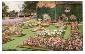21634 Oxford  Sulgrave Manor   Rose Garden