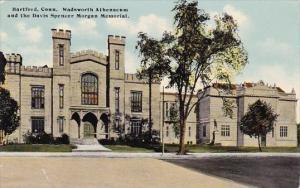 Connecticut Hartford Wadsworth Atheuaeum And The Davis Spencer Morgan Memorial