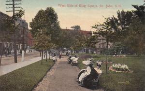 ST JOHN , New Brunswick , Canada , West side king Square, 00-10s