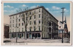New De Will Hotel,, Lewiston ME