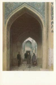 Central Asia UZBEKISTAN Samarqand Shah-i Zindah Northern chartaq