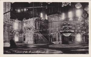 RP; Interior of the Mosque Mohamed Ali, Cairo, Egypt, 10-20s