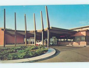 Pre-1980 MOTEL SCENE Olympia Washington WA hk1732