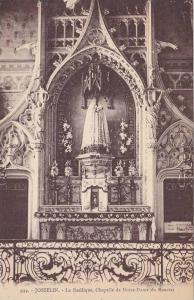 La Basilique, Chapelle De Notre-Dame Du Roncier, Josselin (Morbihan), France,...