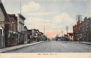 LP06   Main Street Britt   Iowa Postcard