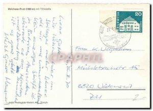 Postcard Modern Melchsee Frutt put Titliskette