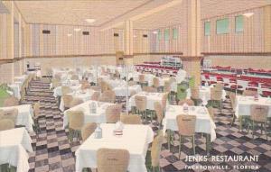 Florida Jacksonville Interior Jenks Restaurant Curteich