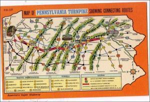 Pennsylvania Turnpike Map