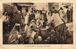 CPA Maroc - Casablanca - Rstaurant don marché (87372)