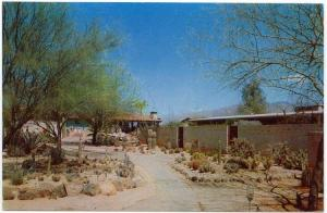 Tucson, Arizona, Early View of Ghost Ranch Lodge