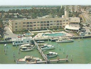 Pre-1980 RESORT MOTEL SCENE Miami Beach Florida FL AE2889