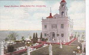 New Jersey Atlantic Beach Young's Residence Million Dollar Pier 1911