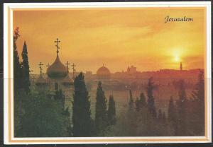 Israel, Jerusalem, sunset, unused