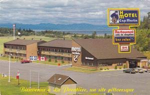 Hotel Motel Cap Martin and Restaurant, La Pocatiere, Quebec, Canada, PU-1985
