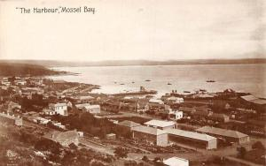 South Africa Mossel Bay The Harbour Port Coast Pier Panorama