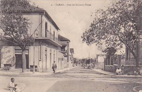 Senegal Dakar Rue du Docteur Thexe