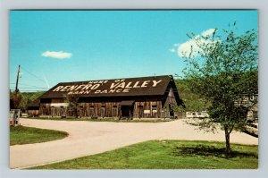 Renfro Valley Kentucky, Barn Dance Country Music, Advertising Chrome Postcard