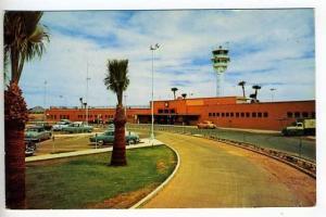 Phoenix AZ Airport Old Cars Postcard