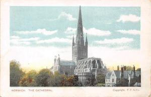 Norwich The Cathedral Panorama Dom Cathedrale