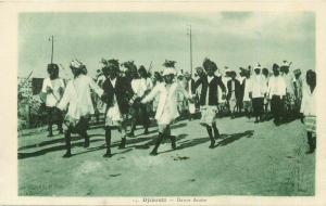 Africa Djibouti ethnic life dance dancers