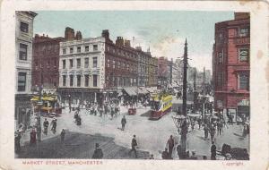 Market Street, Store Fronts, Manchester (Lancashire), England, UK, PU-1909