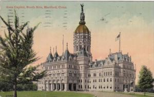 Connecticut  Hartford State Capitol South Side 1914