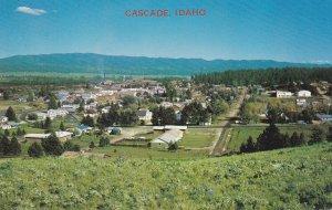 CASCADE , Idaho , PU-1976; Aerial View
