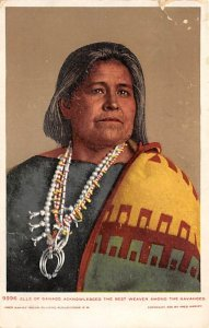 Elle of Gando, the best weaver among the Navajos Pre 1907 Indian Unused