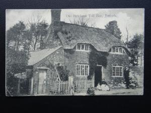 Leicestershire IBSTOCK Old Belchers Toll Bar c1905 Postcard