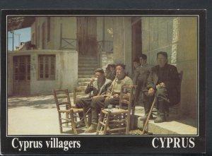 Cyprus Postcard - Cyprus Villagers  RR6423