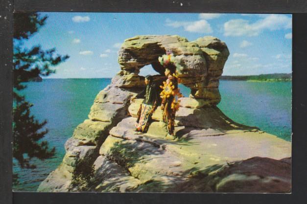 Demon's Anvil,Wisconsin Dells,WI Postcard