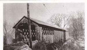 RP: Covered Bridge , Coombs C/B WINCHESTER , New Hampshire , 1960