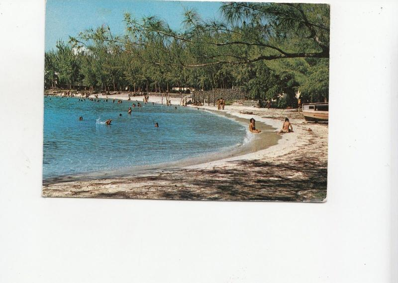 BF17980 pereybere une plage de s l ile maurice mauritius types  front/back image