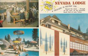 LAKE TAHOE , Nevada , 50-60s ; The Nevada Lodge
