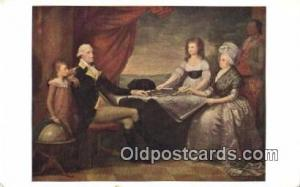 George Washington 1st USA President Postcard Postcards
