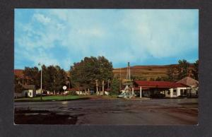 MT Harley's Motel RED LODGE MONTANA POSTCARD PC
