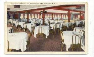 Ball Room, Lawrence Inn, Established 1887, Mamaroneck, New York, 1900-10s