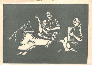Scouts Post Card V Fanderlik Postcard Unused