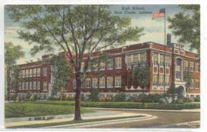 High School, New Castle, Indiana, PU-1949