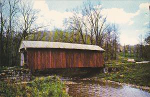 Kent's Run Covered Bridge #5 Mt Perry Ohio