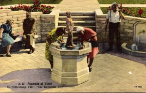 Florida St Petersburg The Fountain Of Youth Curteich