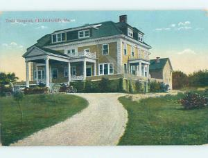 Divided Back HOSPITAL SCENE Biddeford Maine ME hs0568