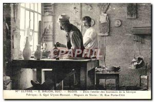 Postcard Old House Ulysses E Balon Blois In & # 39atelier turners of the fact...