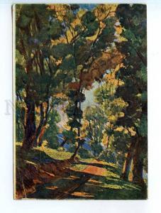 249941 Russia Neumark alley Vintage Iskusstvo postcard